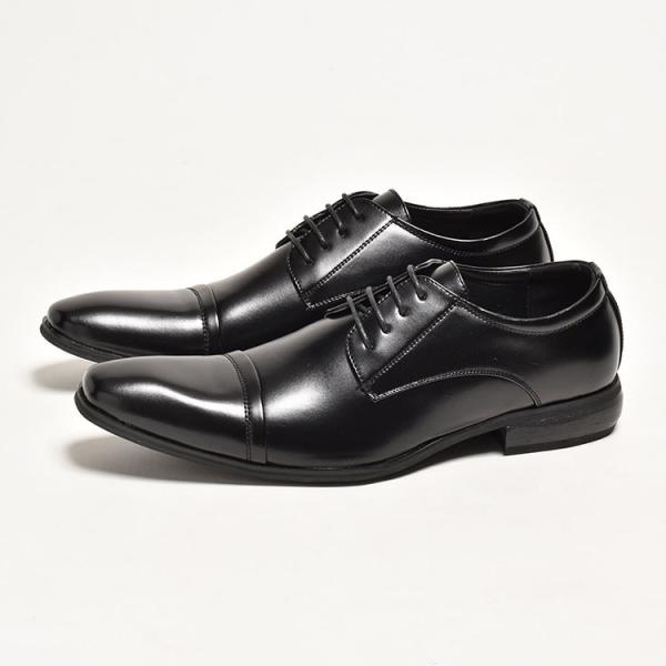 ビジネスシューズ メンズ PU革靴 本革並 靴|anothernumber|06