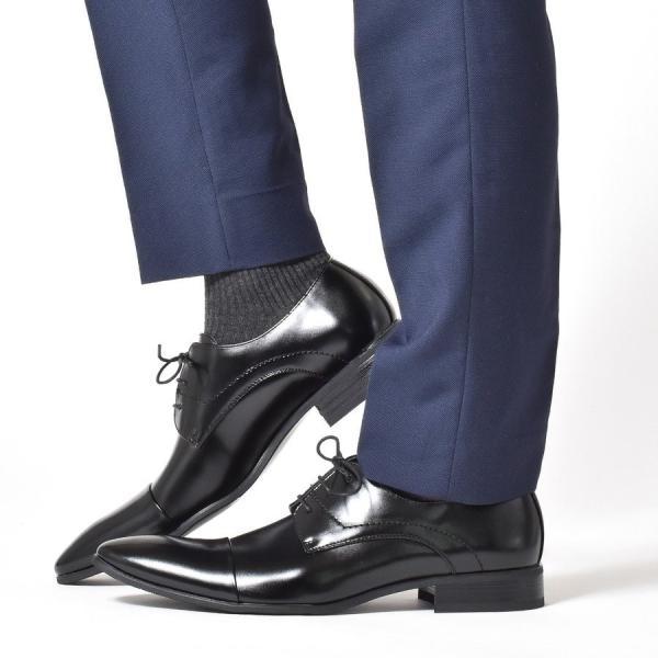 ビジネスシューズ メンズ 紳士ビジネスシューズ PU革靴 靴|anothernumber|12