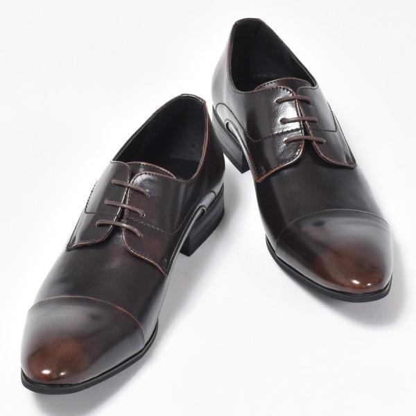ビジネスシューズ メンズ 紳士ビジネスシューズ PU革靴 靴|anothernumber|10