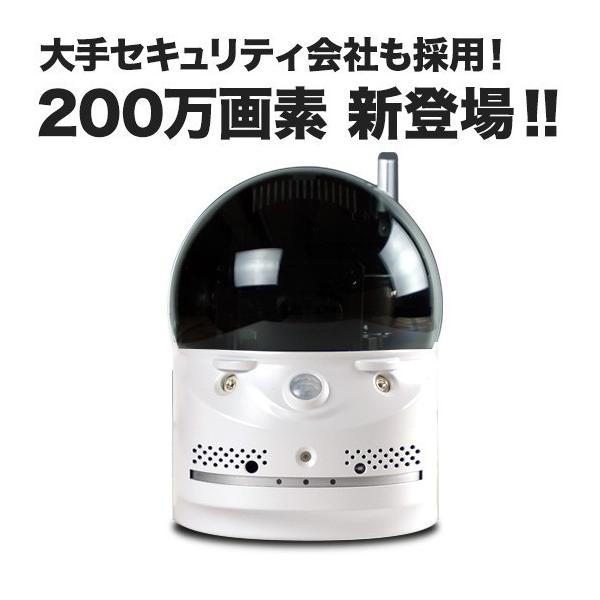 ペット ベビーモニター 介護 など簡単監視 音声も聞ける ワイヤレス ネットワークカメラ 家庭用 SX-704