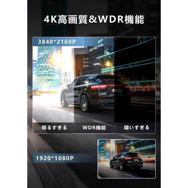 2019最新版ドライブレコーダー 200万画素 フルHD SONYセンサー 広角170° 衝撃録画 駐車監視1年保証accfly-c100cz|anshinsokubai|03