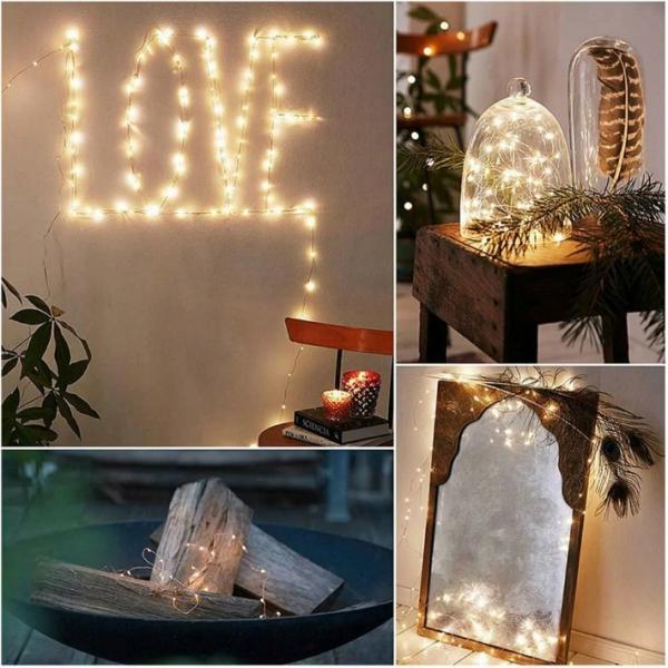 イルミネーション LED 防滴 100球 ソーラーイルミネーションライト 色選択 クリスマス飾り 電飾 屋外 8パターン 防水加工 屈曲性 柔軟性 全8種 led--100|anshinsokubai|04