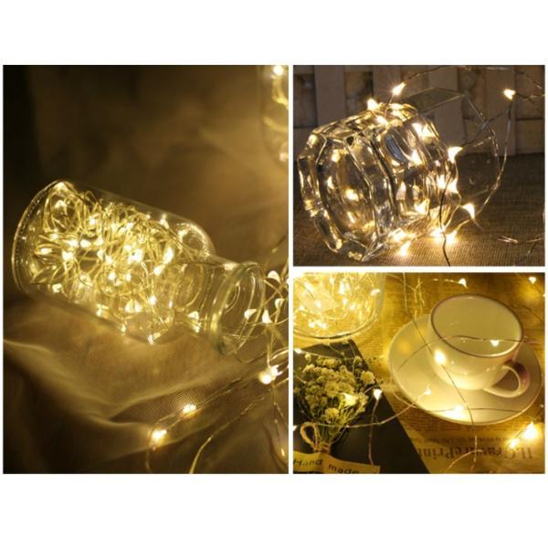 イルミネーション LED 防滴 100球 ソーラーイルミネーションライト 色選択 クリスマス飾り 電飾 屋外 8パターン 防水加工 屈曲性 柔軟性 全8種 led--100|anshinsokubai|08
