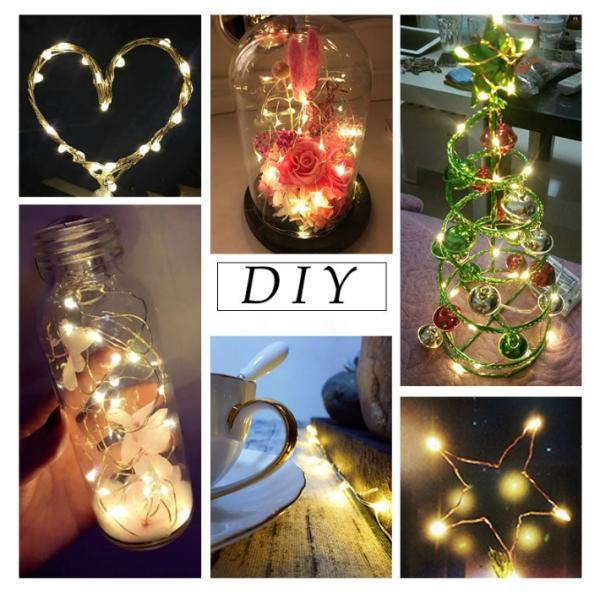 イルミネーション LED 防滴 200球 ソーラーイルミネーションライト 色選択 クリスマス飾り 電飾 屋外 8パターン 防水加工 LED-200|anshinsokubai|06