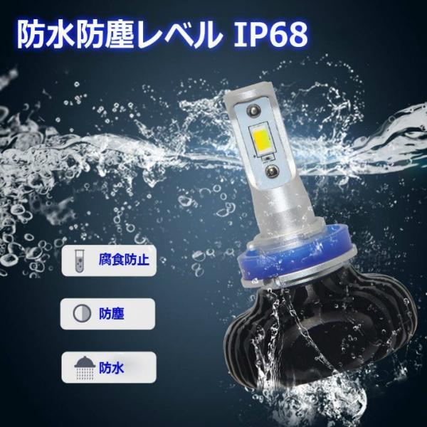 OPPLIGHT H16 LED 2色切替タイプ 光軸調整可能 3000K 6000K 6000LM 30W 高輝度 ソールCSPチップ  取付簡単 長寿命 一年半保証  2本セット OPP-N2-H11 anshinsokubai 05