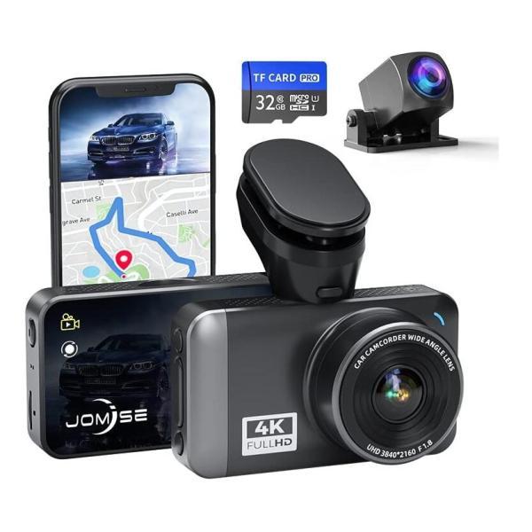 ドライブレコーダー デュアルダッシュカム 前後カメラ 1080P 1200万画素  動き検知HDR暗視赤外線動き検知 駐車監視 常時録画 Gセンサー動き検知 bno-JP-B-09
