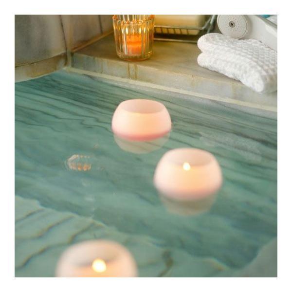 Bath Candle お風呂でアロマ ぷかぷかバスキャンドル フォレストの香り アロマ キャンドル バスタイム お風呂 リラクゼーション ansindo 03