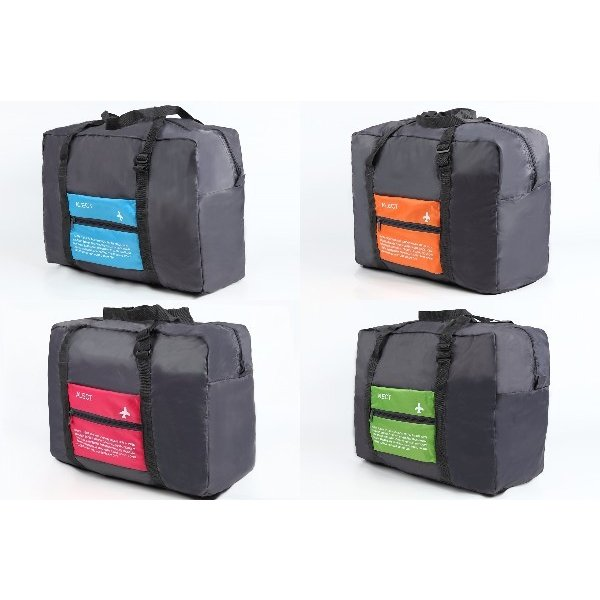 超軽量 トラベルバック ボストンバック コンパクト収納 スーツケースの持ち手に通せる 携帯用折りたたみバック
