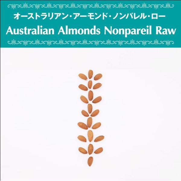 アーモンド オーストラリア産 ローナッツ 無添加 無漂白 砂糖不使用 オーガニック ヴェガン ベジタリアン ローフード ポリフェノール 自然食品 天然素材 40g