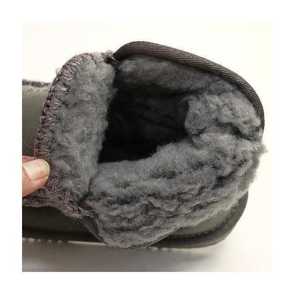 ムートンブーツ 靴 レディース 歩きやすい モカシン フラット 内ボア 暖かい|antelope|11
