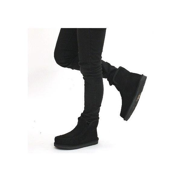 ムートンブーツ 靴 レディース 歩きやすい モカシン フラット 内ボア 暖かい|antelope|04