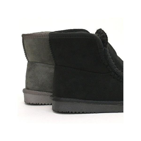 ムートンブーツ 靴 レディース 歩きやすい モカシン フラット 内ボア 暖かい|antelope|07