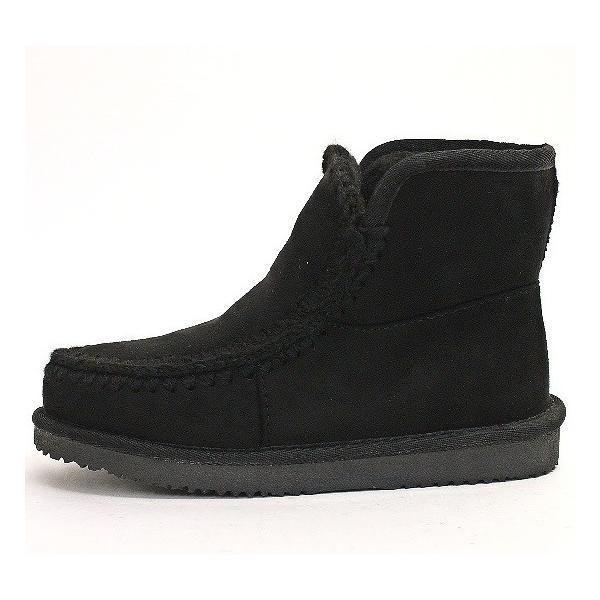 ムートンブーツ 靴 レディース 歩きやすい モカシン フラット 内ボア 暖かい|antelope|08