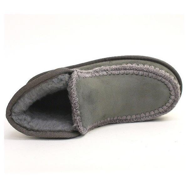 ムートンブーツ 靴 レディース 歩きやすい モカシン フラット 内ボア 暖かい|antelope|09