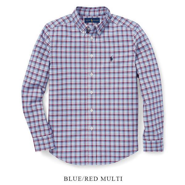 ラルフローレン プラッド オックスフォード シャツ RALPH LAUREN boys Plaid Cotton Oxford Shirt 444608 ゆうパケットで送料無料 s-m|anthem|02