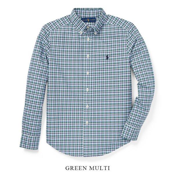 ラルフローレン プラッド オックスフォード シャツ RALPH LAUREN boys Plaid Cotton Oxford Shirt 444608 ゆうパケットで送料無料 s-m|anthem|03