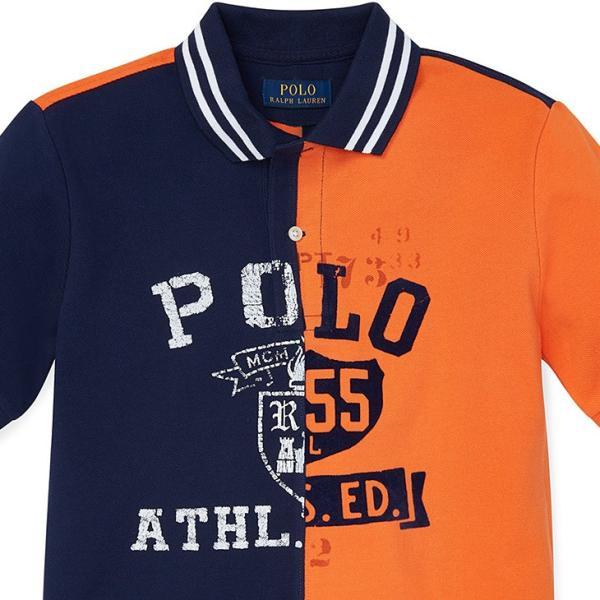 ラルフローレン ポロシャツ RALPH LAUREN boys Cotton Mesh Graphic Polo Shirt 474178 ゆうパケットで送料無料 s-m|anthem|02
