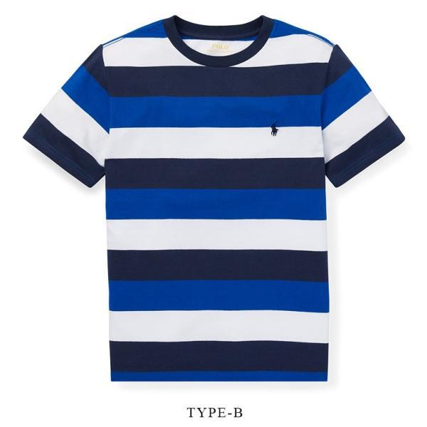 ラルフローレン トップス Tシャツ 半袖 TEE ストライプ RALPH LAUREN boys Striped Cotton Jersey Tee 474204 ゆうパケットで送料無料 s-m|anthem|03