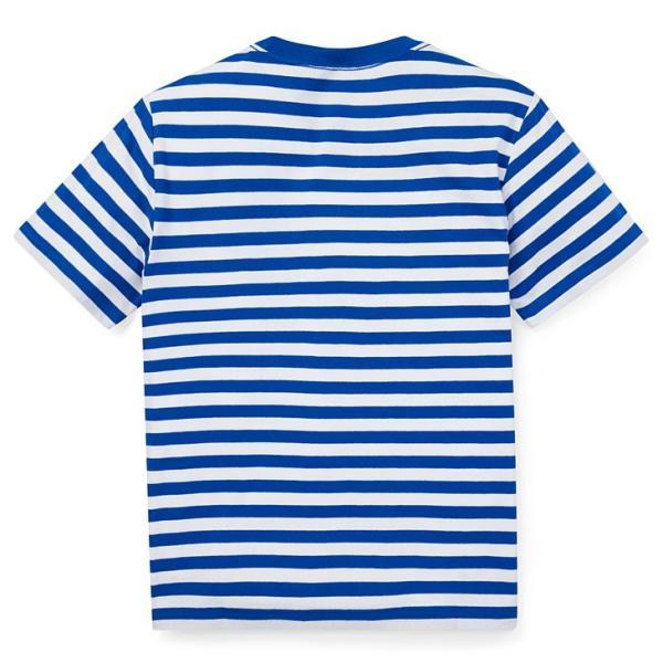 ラルフローレン トップス Tシャツ 半袖 TEE ストライプ RALPH LAUREN boys Striped Cotton Jersey Tee 474204 ゆうパケットで送料無料 s-m|anthem|04