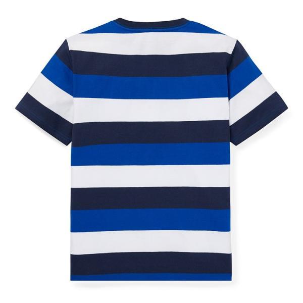 ラルフローレン トップス Tシャツ 半袖 TEE ストライプ RALPH LAUREN boys Striped Cotton Jersey Tee 474204 ゆうパケットで送料無料 s-m|anthem|05