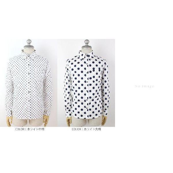 全9色 日本製 ドット プリント ボタンダウン シャツ メンズ ゆうパケットで送料無料 s-m|anthem|03