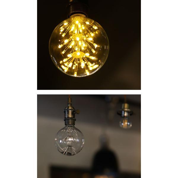 LED 電球 E26 2W 花火電球 照明 ライト 装飾 花火 プレゼント アンティカフェ|antiqcafe|04