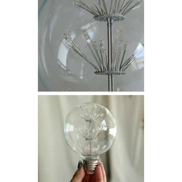 LED 電球 E26 2W 花火電球 照明 ライト 装飾 花火 プレゼント アンティカフェ|antiqcafe|07