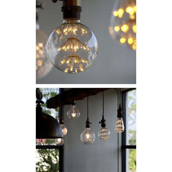 LED 電球 E26 2W 花火電球 照明 ライト 装飾 花火 プレゼント アンティカフェ|antiqcafe|09