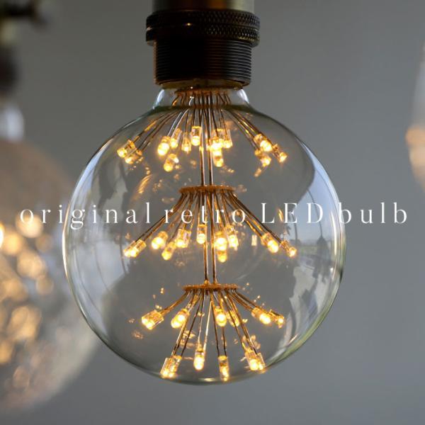 LED 電球 E26 2W 花火電球 照明 ライト 装飾 花火 プレゼント アンティカフェ|antiqcafe|10