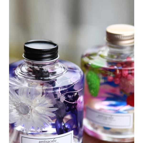 【単品】ハーバリウム 出産祝い ギフト プレゼント 花 スタッキング ボトル フラワー 母の日 クリスマス 敬老の日 誕生日 結婚 新築 お祝い アンティカフェ|antiqcafe|13
