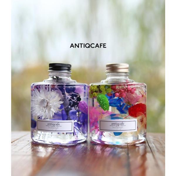【単品】ハーバリウム 出産祝い ギフト プレゼント 花 スタッキング ボトル フラワー 母の日 クリスマス 敬老の日 誕生日 結婚 新築 お祝い アンティカフェ|antiqcafe|18