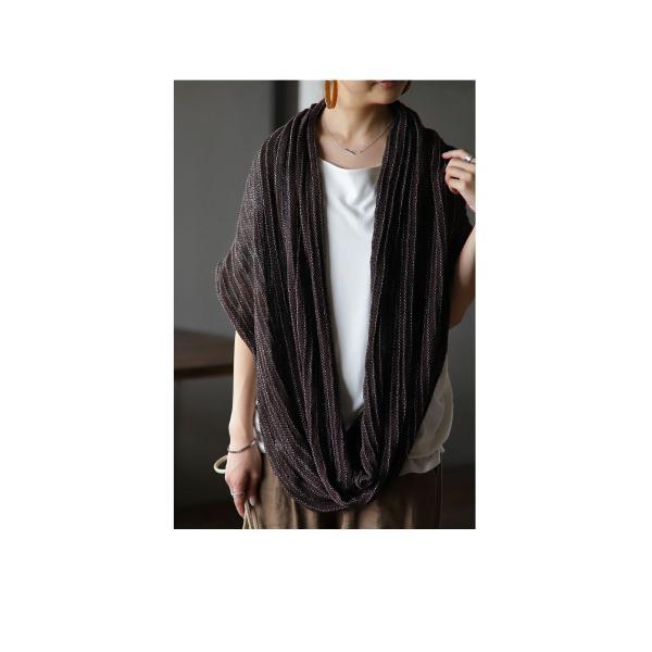 ストール ショール カーディガン 羽織り ギフト アンティカフェ|antiqcafe|07