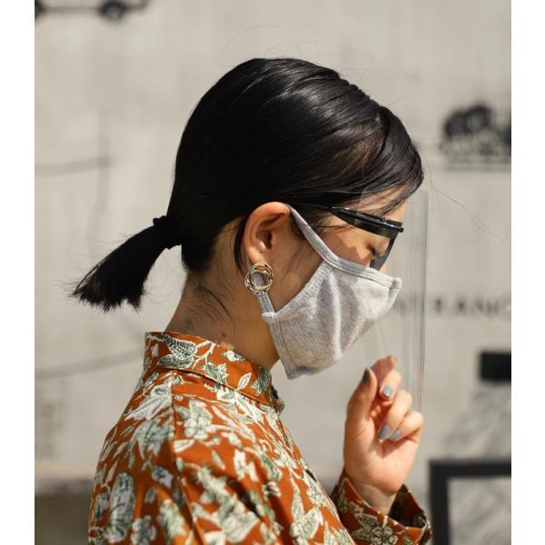 フェイスシールド フェイスガード 感染予防 ウィルス対策 アンティカフェ メール便不可 antiqcafe 12