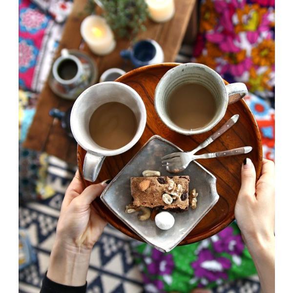 大人気の為、再入荷!木村二色流し十草コーヒー碗皿 カップ&ソーサー  taw|antiqcafe|12