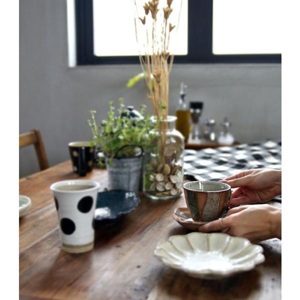 大人気の為、再入荷!木村二色流し十草コーヒー碗皿 カップ&ソーサー  taw|antiqcafe|18