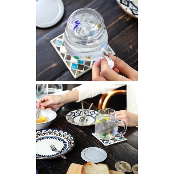 【ガラス/グラス】水玉マグカップ アンティーク ヴィンテージ オシャレ食器 CAFE モダン レトロ 北欧 お洒落 アンティカフェ taw|antiqcafe|04