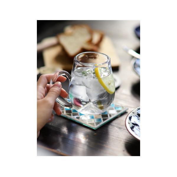 【ガラス/グラス】水玉マグカップ アンティーク ヴィンテージ オシャレ食器 CAFE モダン レトロ 北欧 お洒落 アンティカフェ taw|antiqcafe|05