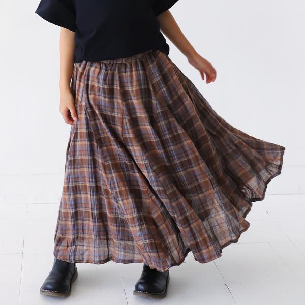 キッズ スカート チェック レトロ キッズスカート・7月30日0時~再販。100ptメール便可 TOY