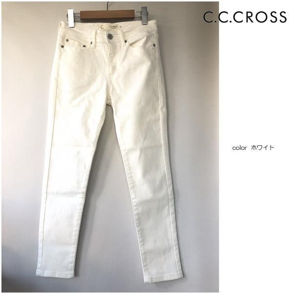 C.C.CROSS(シーシークロス) ホワイトスキニー antiquebeach 05