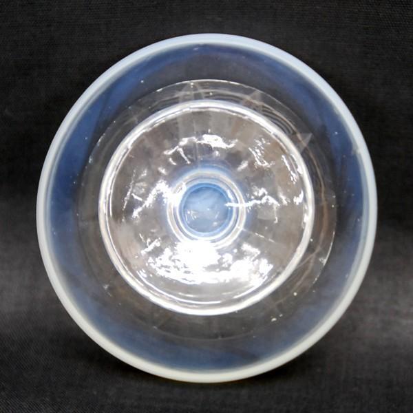 氷コップ 昭和レトロ デッドストック 乳白色(淵の部分)|antiquesjikoh|04