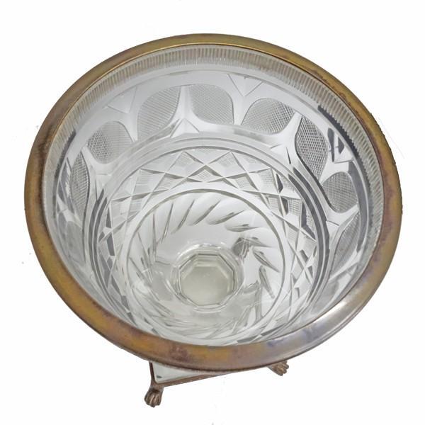 アンティーク フルーツグラス 真鍮|antiquesjikoh|04