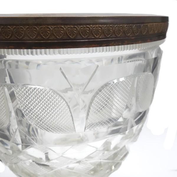 アンティーク フルーツグラス 真鍮|antiquesjikoh|05