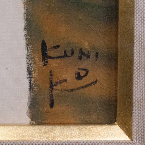 松任谷國子 「夢」 油彩8号 絵画|antiquesjikoh|03