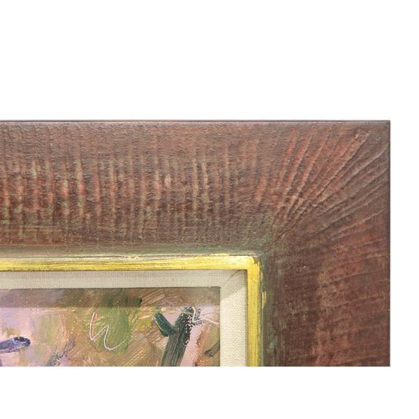 山岡康子 「LA RUTONDE」 油彩画 F4号 p-115|antiquesjikoh|04
