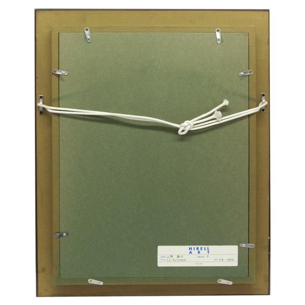 山岡康子 「LA RUTONDE」 油彩画 F4号 p-115|antiquesjikoh|05