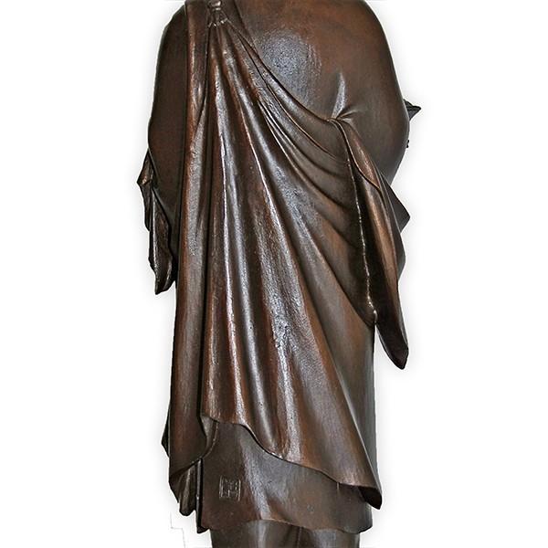 高村光雲 「聖徳太子御孝養之像」 和宗総本山四天王寺創建1400年記念発行品 ブロンズ像|antiquesjikoh|12