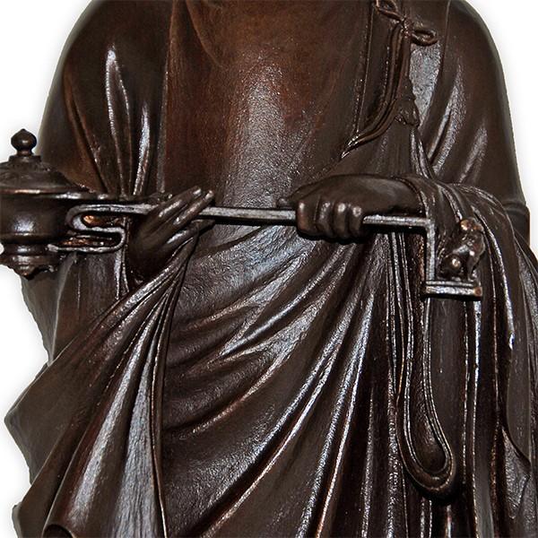高村光雲 「聖徳太子御孝養之像」 和宗総本山四天王寺創建1400年記念発行品 ブロンズ像|antiquesjikoh|09