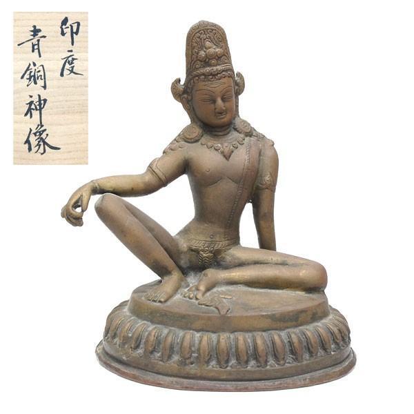 印度 青銅神像 仏像 共箱|antiquesjikoh