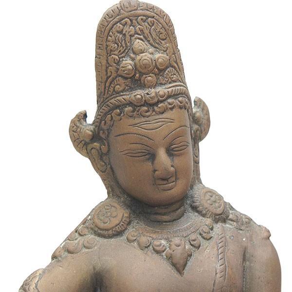 印度 青銅神像 仏像 共箱|antiquesjikoh|02
