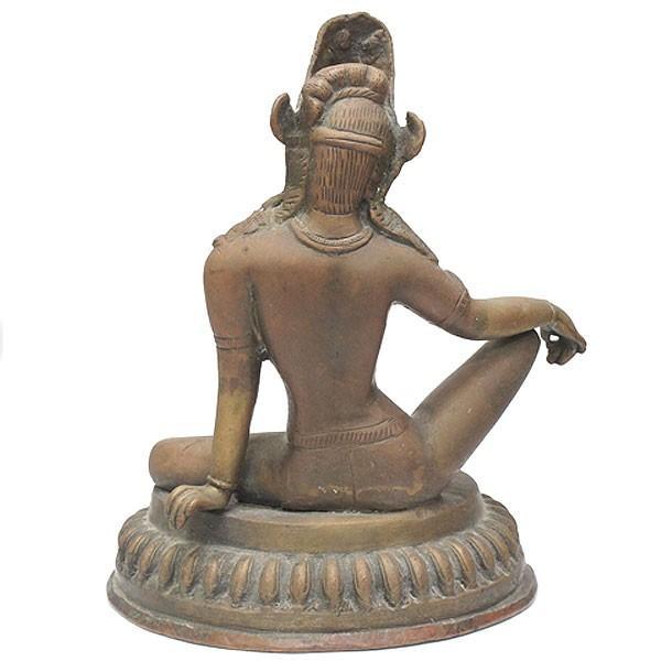 印度 青銅神像 仏像 共箱|antiquesjikoh|04
